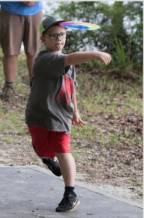 Local Youth Champion in Disc Golf