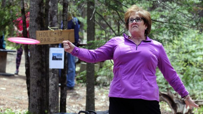 Ladies Tee: Disc golf event in West Gardiner the first of its kind