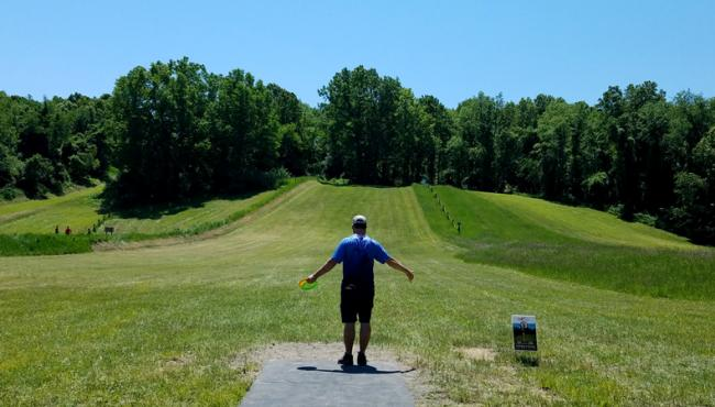 Brandon Oleskie Shoots Opening Hot Round at USADGC for Second Year in a Row