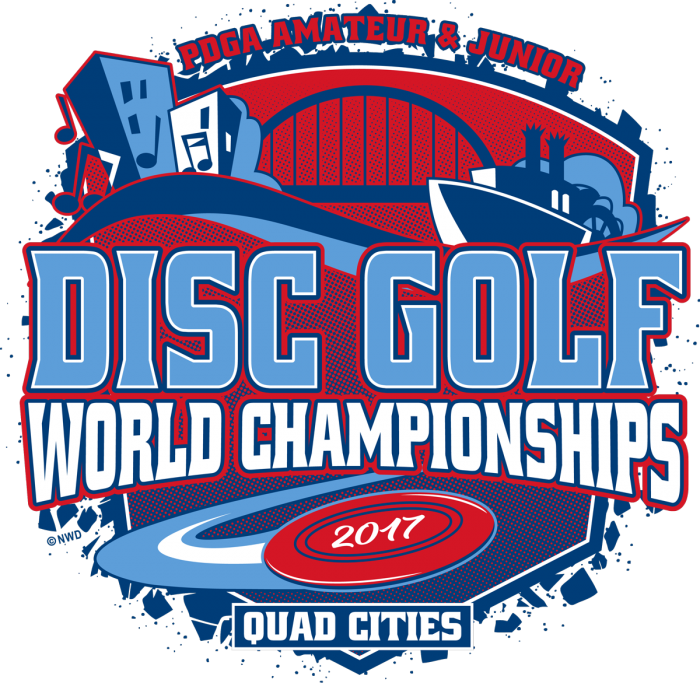 2017 PDGA Am Worlds: Advanced Round 4, Front 9 (Poe, Anderson, Carey, Berg) –