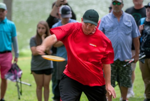 Pro disc golfer Joshua Anthon wins Ledgestone Insurance Open at Lake Eureka