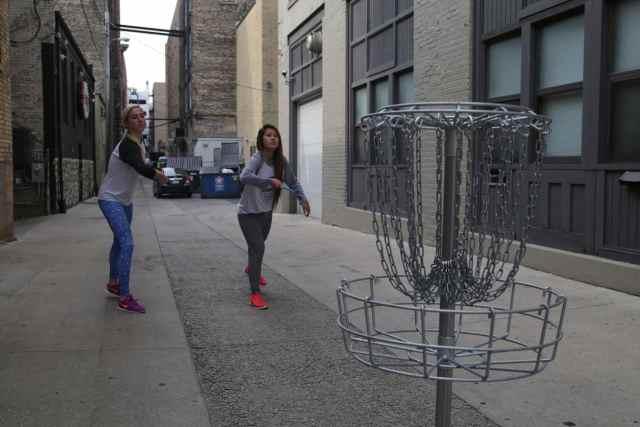 Urban Disc Golf Tournament Takes Over Downtown