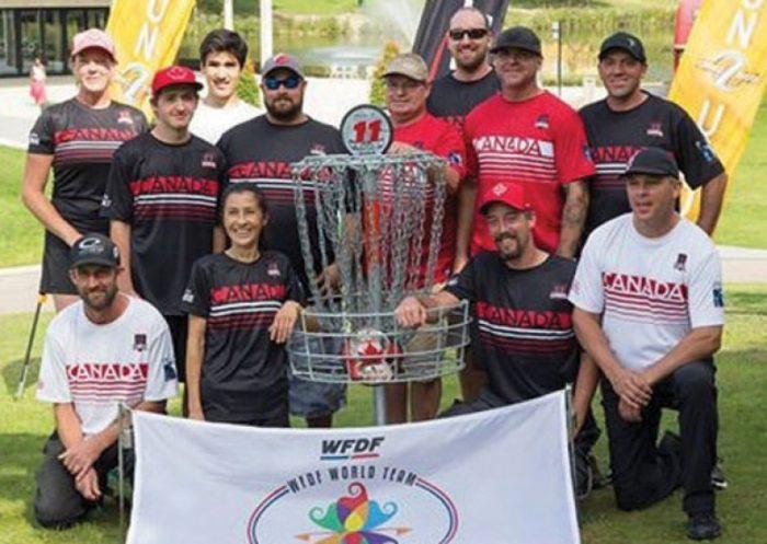 Tsawwassen's Brown & Diakow help Canada win gold at World Team Disc Golf Championships