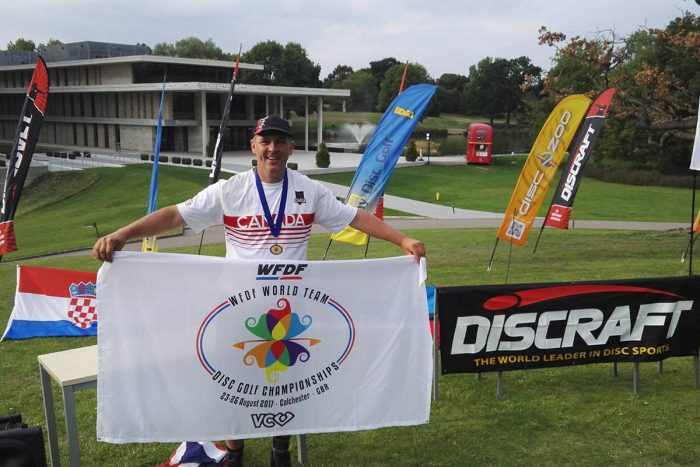 South Surrey resident brings home gold medal after international disc golf tournament