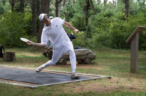 Disc Golf Open draws top players