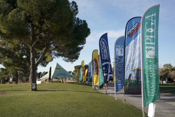 Strong Winds Upend Open Field During Las Vegas Challenge's First Day
