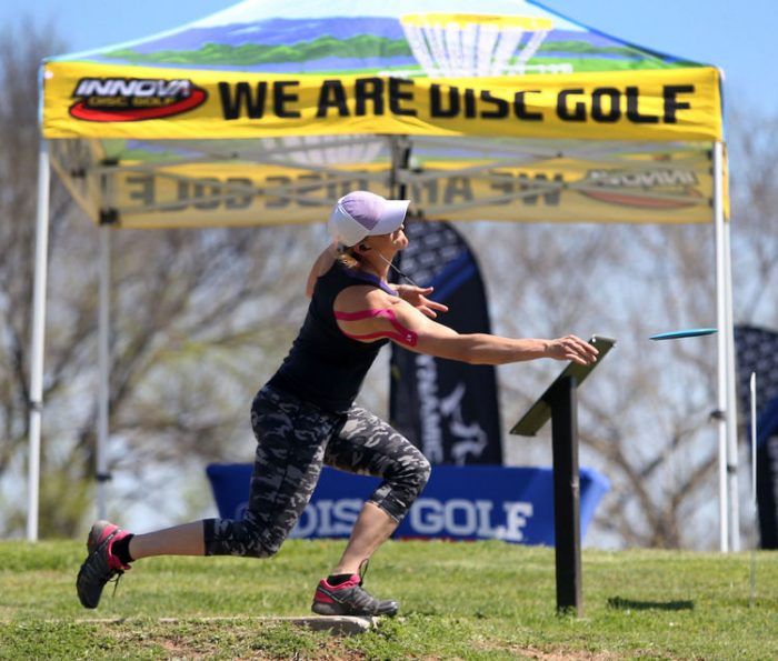 Waco Charity Open brings pro disc golf back to Brazos Park East