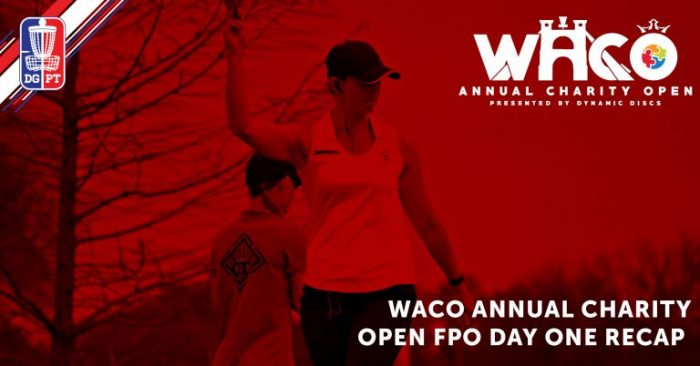 WACO 2018 FPO Day One Recap: A little Wind in Hokom's Sails
