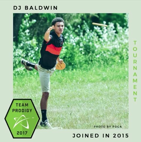 DJ Baldwin hopes to be in the top five at BG