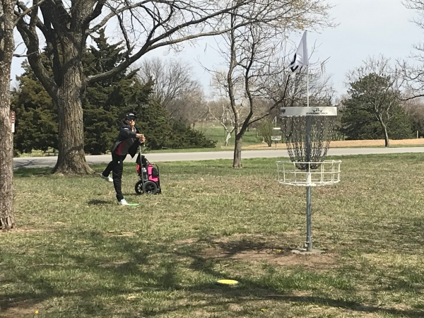 Emporia welcomes disc golfers from across the world