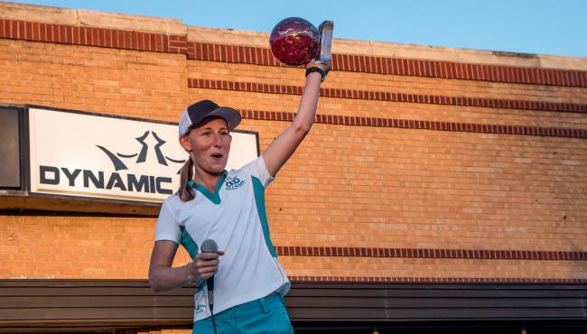 Pierce Outlasts Fajkus To Repeat At Glass Blown Open