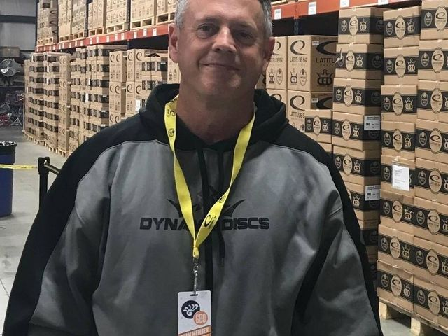 Disc golf keeps Dave Muntean busy
