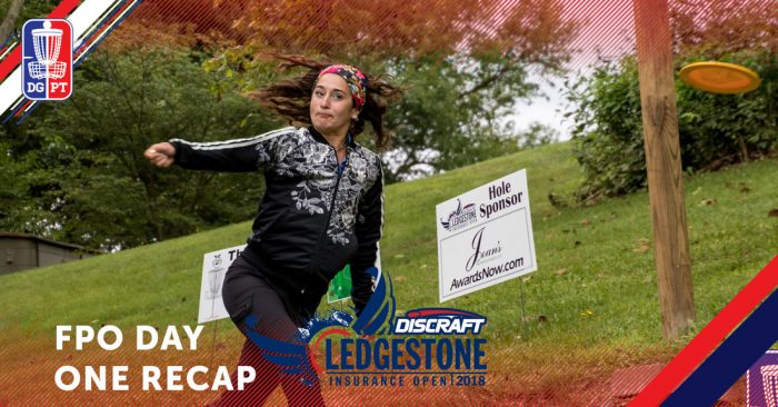 2018 Ledgestone Insurance Open: FPO Round 1 Recap – Bumper to Bumber Traffic on the Leaderboard
