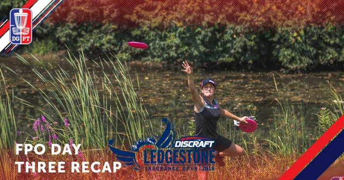 2018 Ledgestone Open: Weese moves up the leaderboard in round three
