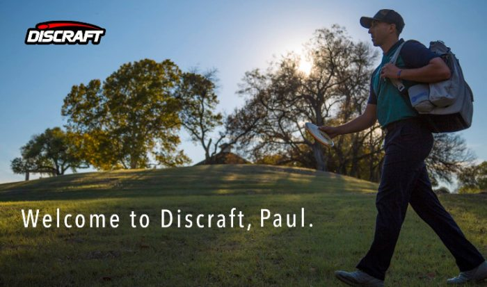 Welcome to Discraft, Paul.