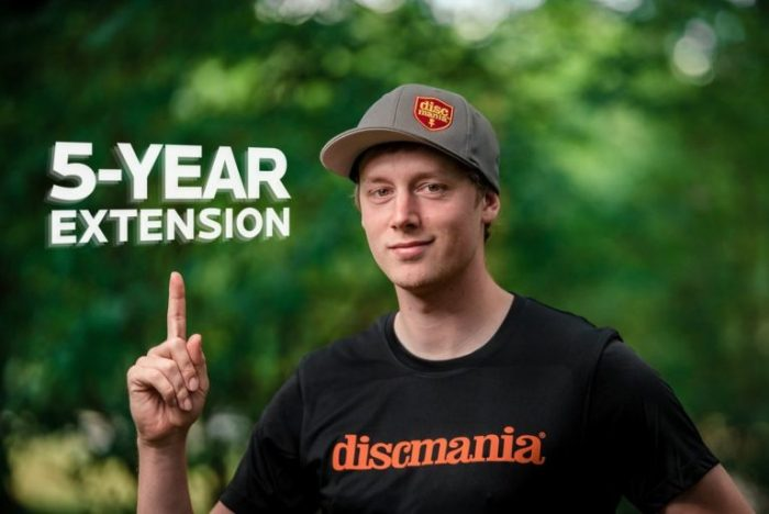 Simon Lizotte, Discmania Agree To 5-Year Extension